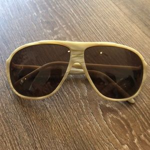 Stussy Cab mother of pearl sunglasses